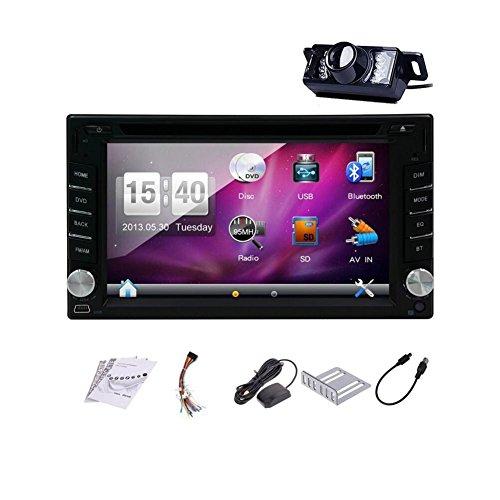 Pupug 6,2 pouces Double Din En Dash GPS lecteur DVD de voiture USB SD Bluetooth PC Radio Navigation...