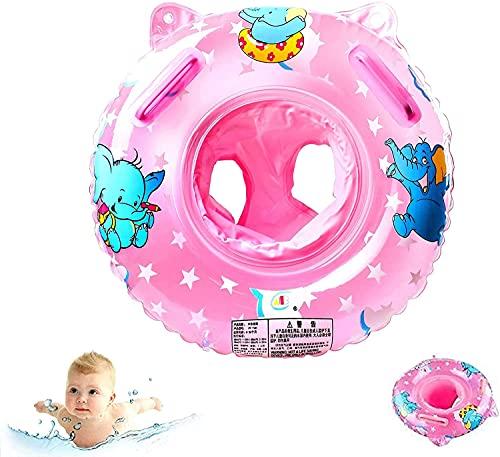 Baby Schwimmring,Schwimmsitz Kinder,Baby Aufblasbarer Schwimmreifen,Schwimmreifen Spielzeug,Pool Baby Schwimmen Ring,Baby Schwimmring Aufblasbarer,Kinder Schwimmhilf (Elefantenpulver)