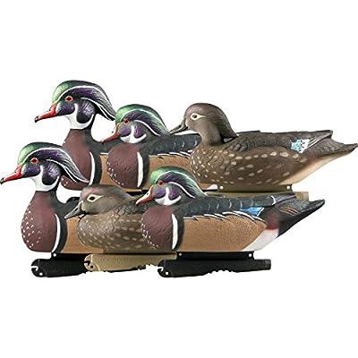 Avery Greenhead Gear Pro-Grade Duck Decoy,Wood Ducks,1/2 Dozen