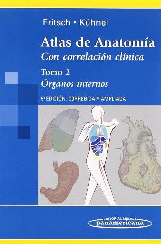 Atlas de anatomia: Órganos Internos: 2 (Atlas de Anatomía)
