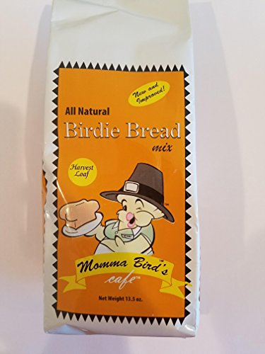 Momma's Birdie Bread Mix Treat for Parrots and Exotic Birds (Harvest)