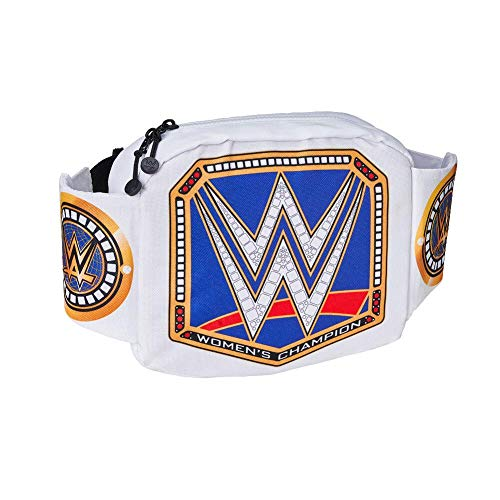 WWE Authentic Wear Smackdown Women's Championship Title Belt Waist Pack Multi