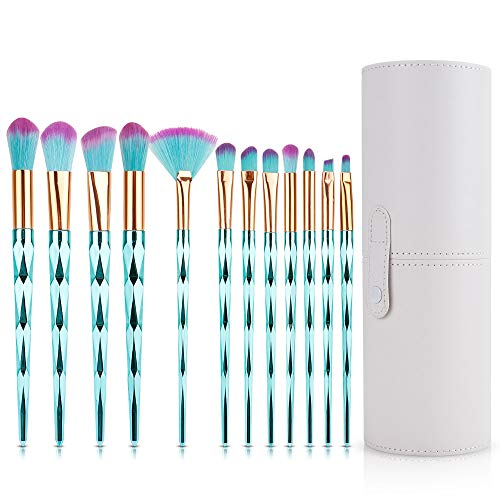 Make Up Pinsel Set, Jooheli 12 Stück Kosmetikpinsel Sets, Professioneller Make-up Pinsel,...