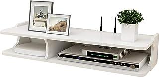 Casiers, étagères et tiroirs Rangement TV Boîte De Rangement pour Routeur Cloison Murale Support De Chambre À Coucher pour...