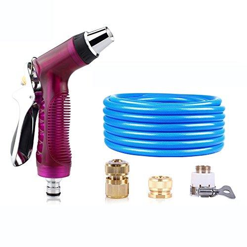 Télescopique Pistolet d'eau de lavage à haute pression Tuyaux de conduite d'eau domestique Outils d'arrosage à pression Rush to take Buse à vapeur de tuyau L6 + tube rond (taille facultative) Quatre s