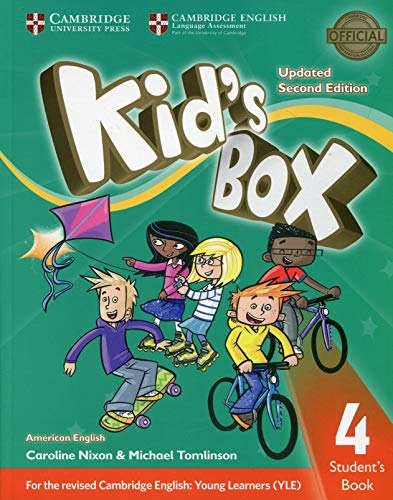 American Kids Box 4 - Students Book Updated - 02 Edition