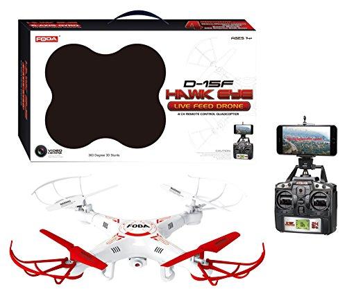 London Europa ty-d15F fauda Drohne mit Live-Feed über Smart Phone HD Cam, 38cm