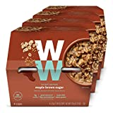 WW Maple Brown Sugar Instant Oatmeal - 3 SmartPoints - 4 Boxes (16 Count) - Weight Watchers...