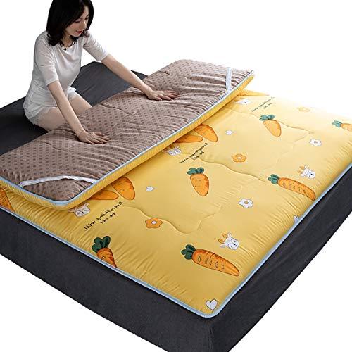 XER Tatami vloermat, opvouwbaar matras, reiswieg, buitenshuis, vloer, matras, futon voor slaapzaal