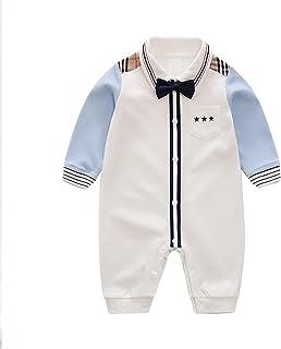 طفل عالي الجودة ماركة طفل صغير مطبوع عليه طفل غير رسمي Roمبير طفل نيسيي بذلة (اللون: عاجي، مقاس الأطفال: 24M)