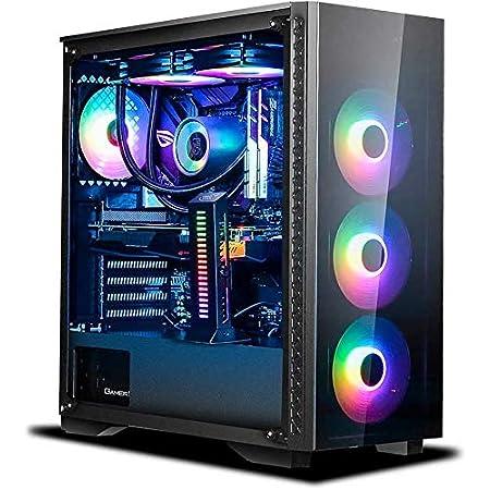 HARDITAL PC Gaming montado completo procesador Intel Core i9 10900 K 10 Core 3.7 – 5.3 GHz / RAM 32 GB DDR4 / SSD 1 TB/HD 4 TB / RTX 3060TI 8 GB GDDR6 / USB 3.0 / WI FI BT/Windows 10 PRO