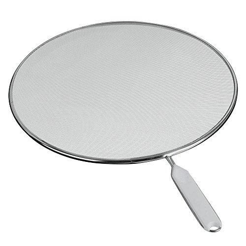Metaltex 206133 - Tapa Anti-Salpicaduras Aluminio, 33 centímetros