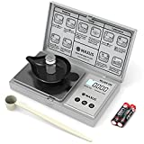 MAXUS Digital Reloading Scale 1500 Grains x 0.1 gn Includes Calibration Weight, Weighing Tray and a Handy Powder Scoop, 100g x 0.005g Gram Scale, Grain Scale, Pocket Scale, Arrow Scale, Archery Scale