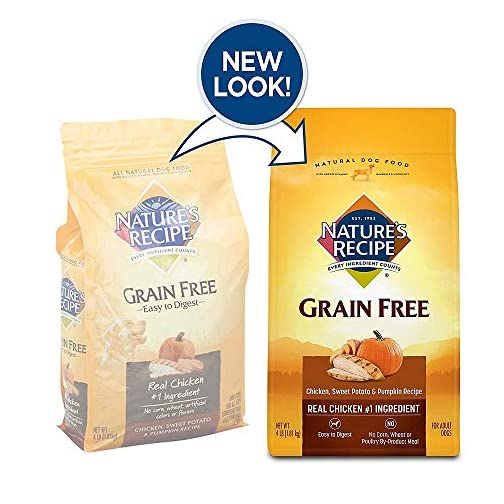 Nature's Recipe Grain Free Easy to Digest Dry Dog Food 5