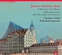 Bach: 6 Organ Sonatas arranged for 2 Pianos & 4 Hands by Claudine Orloff (2011-01-11)