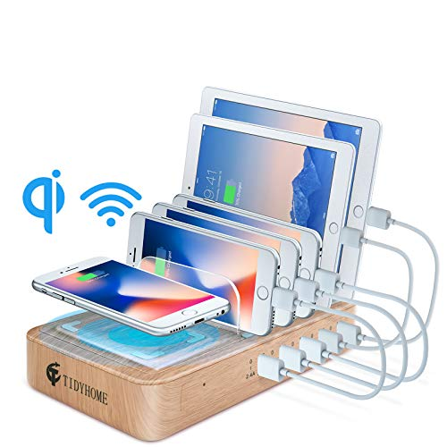 Fast-charging station for multiple devices