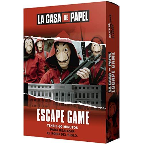 Larousse-La Casa de Papel: Escape Game-Español, multicolor, Talla Única (Lrcpeg01) , color/modelo surtido