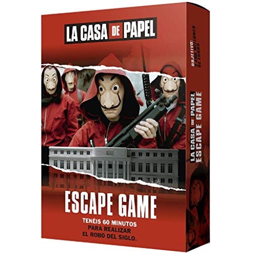 Larousse-La Casa de Papel: Escape Game-Español, multicolor, Talla Única (Lrcpeg01) , color/modelo...