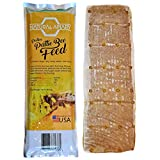 Natural Apiary - Pollen Patty Bee Feed - 15% Pollen Protein -...