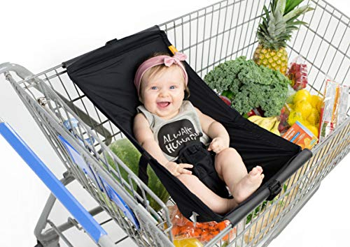 BINXY BABY Shopping Cart Hammock | The Original | Holds All Car Seat Models | Ergonomic Infant Carrier  Positioner