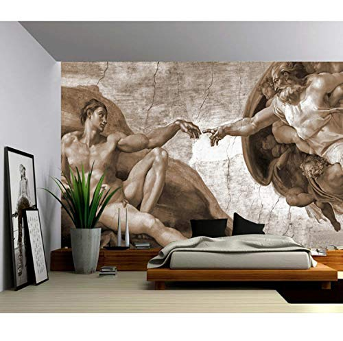 Mural 3D Foto Wallpaper Moderno Diseño Simple Regalo Creación De Adam Pared...