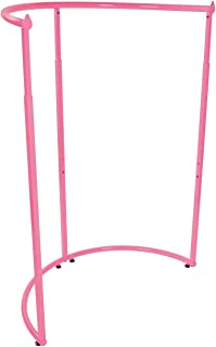 SSWBasics Hot Pink Half Round Clothing Rack