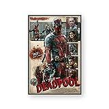manyaxiaopu Klassische Marvel Movie Art Leinwand Poster
