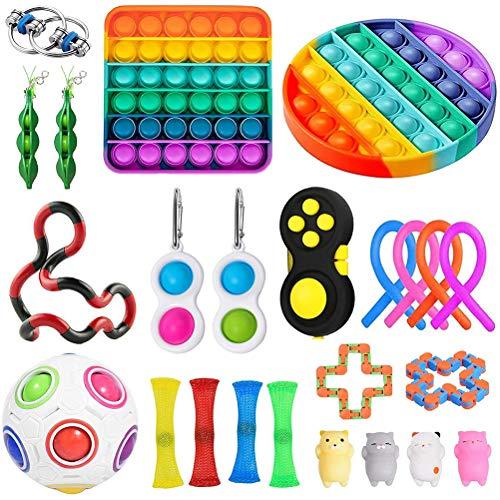 Sensory Toys - Juego de juguetes para niños y adultos para aliviar el estrés y antiansiedad