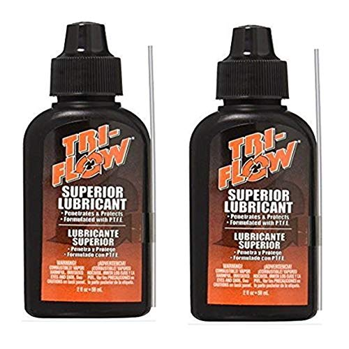 Tri-Flow, 2 OZ Squeeze Bottle, Lubricant with Teflon - 2 Pack