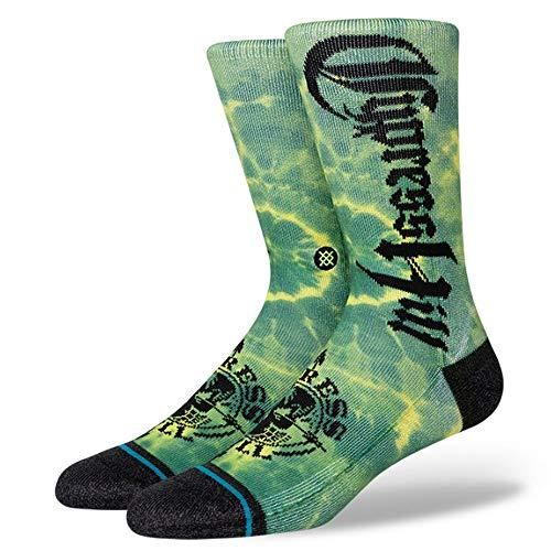 Stance x Cypress Hill Insane In The Brain Men's Crew Socks Green L