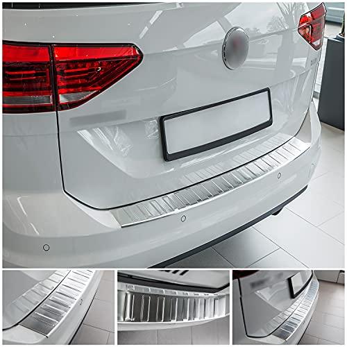 tuning-art L193 Edelstahl Ladekantenschutz für VW Touran 2 5T 2015-5 Jahre Garantie
