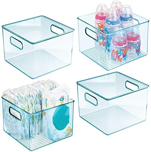Baby bottle storage containers