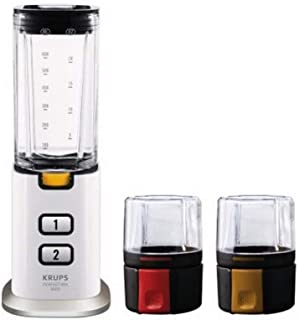 Krups KB 3031 Perfect Mix 9000 - mixers (Black, Stainless steel, Transparent, White, Stainless steel)