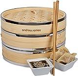 Cuit vapeur bambou: Andrew James