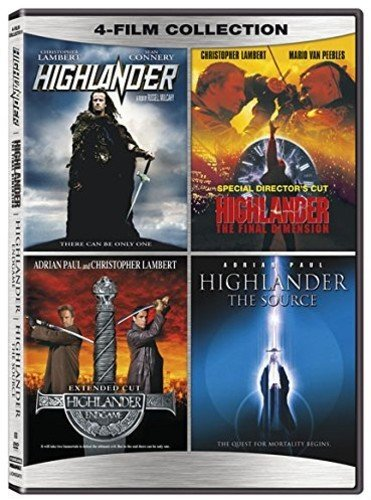 Le coffret DVD des 4 films Highlander