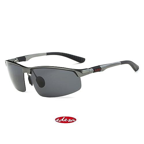 Gafas de sol para hombre, polarizadas, para pesca o para conducir, con  estuche 651084a39e