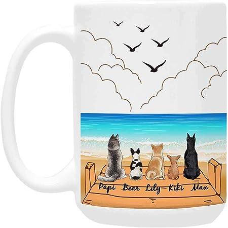 Details about  /Personalized Dog Mug Set Dog Mug Dog Lover Gift Custom Dog Gift Dog Mom Dog Dad