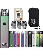 Aspire (アスパイア) Favostix Kit (ファボスティックス) QR日本語マニュアル+交換用POD(1.0Ω)1箱(3個入り)+FlavorKitchenオリジナルPODポーチセット