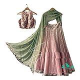 AMIT FASHIONS Lehenga Choli Style Indien pour Femmes