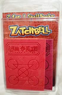 Zatch Bell 2 For 1 Spell Books Zatch Zofis Red Purple (The Card Battle)