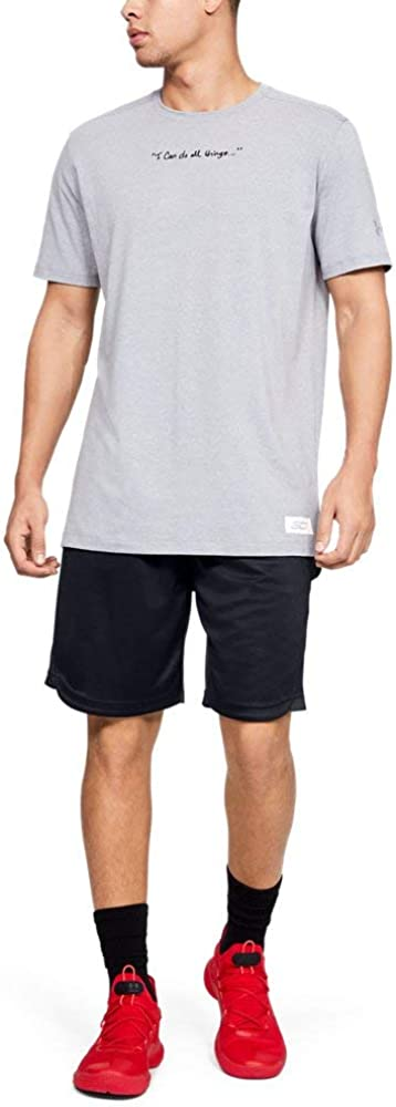 Under 国内正規品 メーカー直送 Armour Men's Curry Short Elevated 10-inch