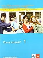 Cours intensif Neu 1. Grammatisches Beiheft: Franzoesisch als 3. Fremdsprache mit Beginn in Klasse 8. Alle Bundeslaender