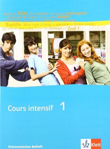 Cours intensif 1 Grammatisches Beiheft