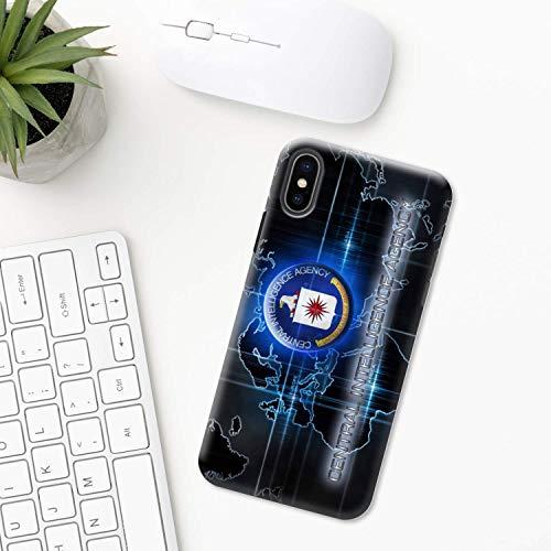 FBI Swat CIA iPhone Funda XR 11 X XS MAX Pro 8 7 Plus 6 6s 5 5s SE 2020 10 Plastico Silicona Apple iPhone Cubierta del Teléfono Regalo Arte ejército militar policía policaman pistolas
