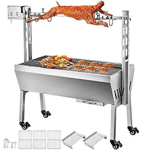 outdoor pig rotisserie - 9