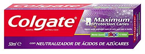 Colgate Niños Máxima Protección Anticaries Pasta Dentífrica - 50 ml