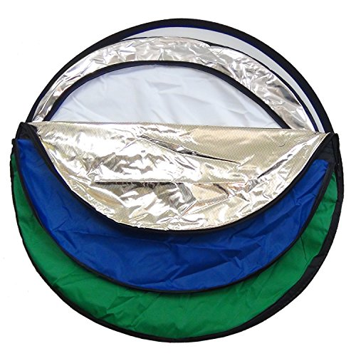 DynaSun Set Fondo Reflector Difusor Plegable 7en1 60cm Blanc