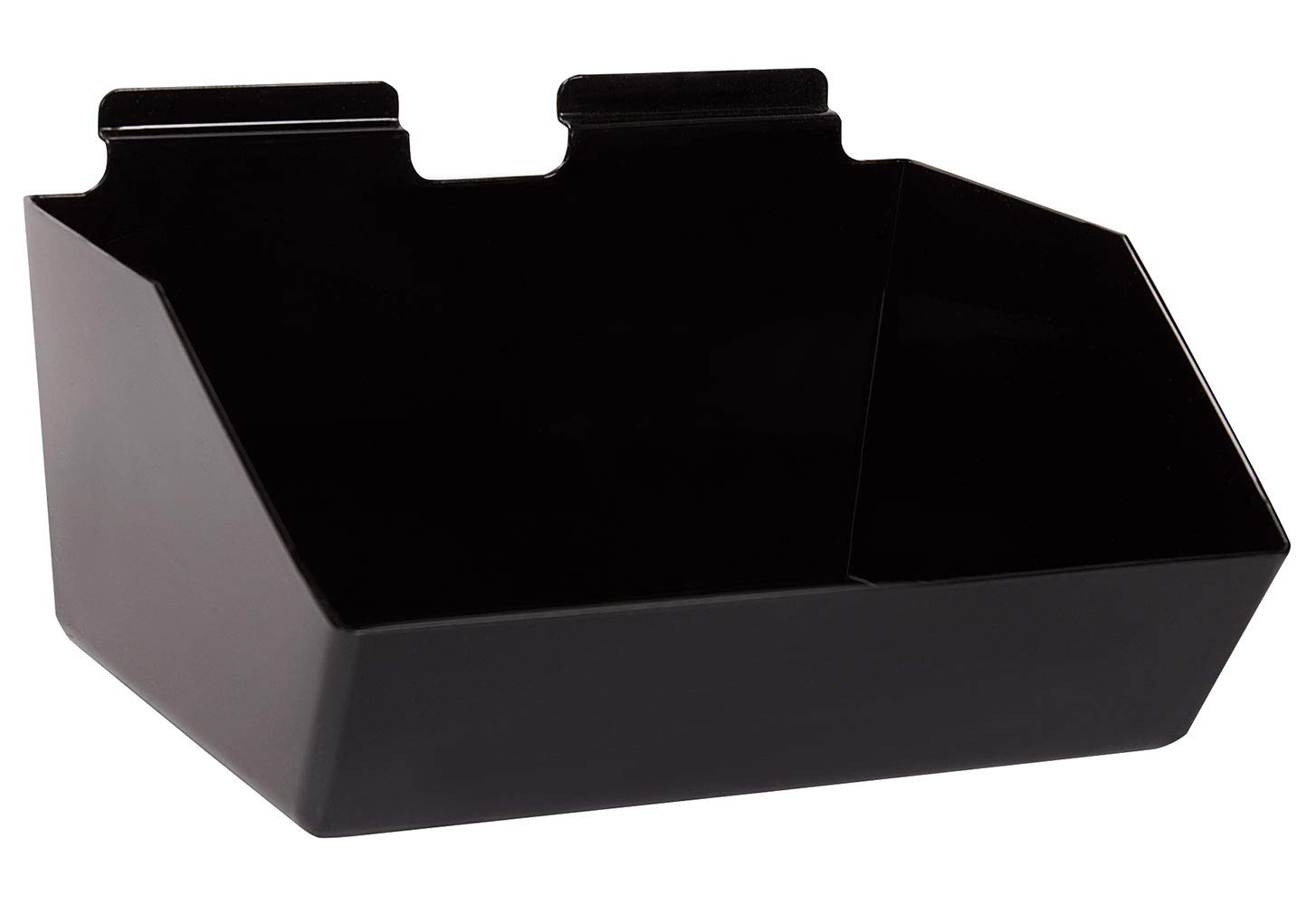 12 x 5 ½ 9 Spring new work one after another inch Black for Dump Plastic - Denver Mall Slatwall Bin