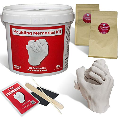 3D Casting Kit - Moulding Memories Kit by BucKit Craft | Complete Adult...
