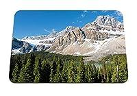 26cmx21cm マウスパッド (公園カナダ山風景ロックバンフ) パターンカスタムの マウスパッド